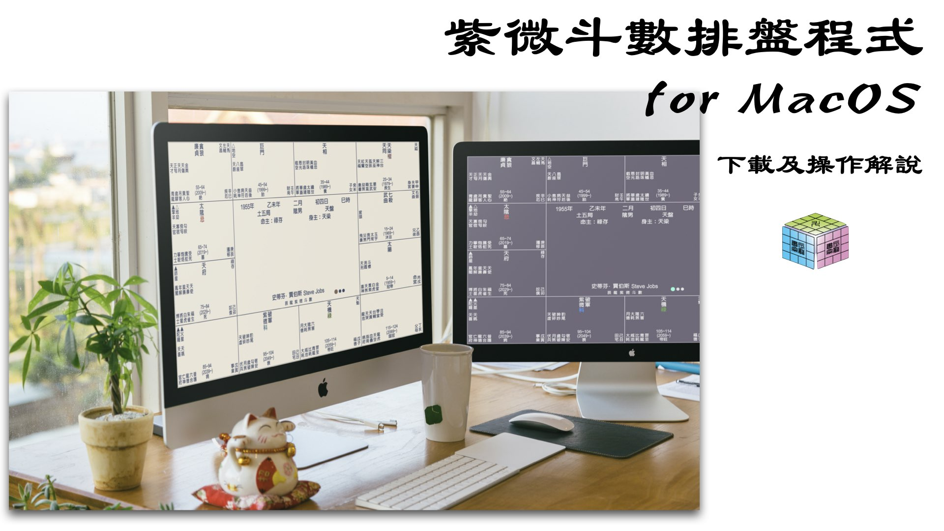 紫微斗數排盤程式下載及解說 for MacOS